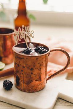 Blackberry moscow mule recipe.