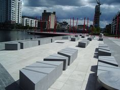Grand Canal Square, Dublin, Ireland by Martha Schwartz Partners