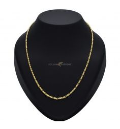 Mind blowing micro Gold Plated designer Fish Chain. With its stylish and trendy design both women and teenagers will like to wear this.