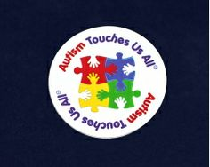 Autism Touches Us All Magnets (24 Magnets)✖️More Pins Like This One At FOSTERGINGER @ Pinterest✖️