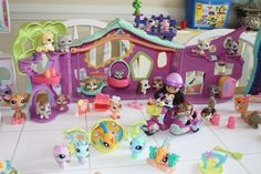 Just a few of my daughters Littlest Pet Shops