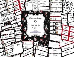 Classroom Decor Kit: Pirate Theme Printables
