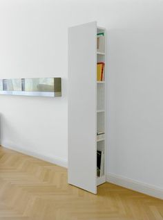Keep the clutter a bit hidden - and have easy acces at the same time! HP05 Kast Twee, E15.