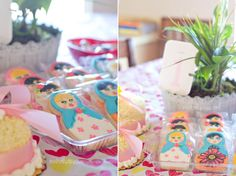 first birthday with matryoshka russian nesting doll theme