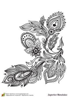Zentangle coloring pages free google search adult coloring pages pinterest zentangle - Mandala facile ...