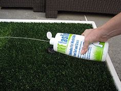 TURFtastic: The First Odor Eliminator for Dog Potties Porch Potty http://www.amazon.com/dp/B00VVQQGVO/ref=cm_sw_r_pi_dp_br.Wvb1287A7S