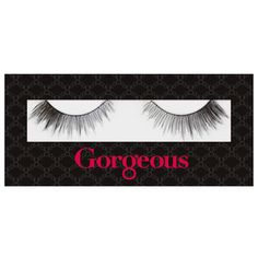 Gorgeous Cosmetics Miss Naughty Lashes (42 RON) ❤ liked on Polyvore featuring beauty products, makeup, eye makeup, false eyelashes and gorgeous cosmetics