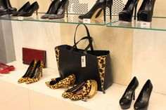 Sparkly Fashion: Cinti A/I 2013/14 Animalier heels bag decolletés
