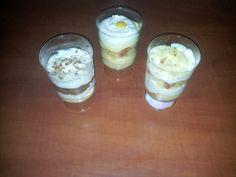 3 Soorten lepel gebakjes Monchou-advocaat-bitterkoekjes