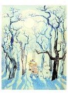 tuutikki_ja_muumi_hiipimässä metsässä