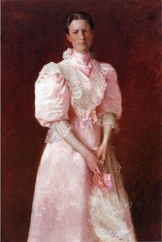 William Merritt Chase - Portrait of Mrs. Robert P. McDougal 1895