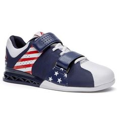 Reebok CrossFit Lifter Plus 2.0 Liberty Pack Women's Training Shoes in Blue Red White | Stars & Stripes