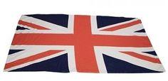 NOVELTY JUMBO SOFT UNION JACK BEACH BATH TOWEL SWIMMING POOL HOLIDAY FESTIVALS  Our Price: £7.99