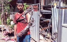 Indonesian Guy Creates A Working Bionic Arm From Scrap Parts - https://technnerd.com/indonesian-guy-creates-a-working-bionic-arm-from-scrap-parts/?utm_source=PN&utm_medium=Tech+Nerd+Pinterest&utm_campaign=Social