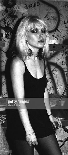 Deborah Harry (Blondie) backstage at the Whisky-a-Go-Go in West Hollywood, CA 1977; Various Locations; Mark Sullivan 70's Rock Archive; West Hollywood; CA.