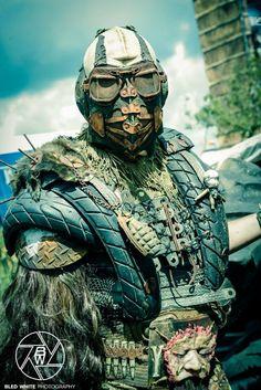 Post apocalypse warrior