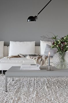 Grey living room Stylizimo