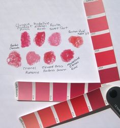 """Launched in the """" Lipstick Swatchfest """" teaser, I showed my small collection of plum-based lipsticks and then the red ones . Summer Lipstick, Summer Makeup, Light Spring, Soft Summer, Clear Spring, Lady Bug, Home Design, Cool Skin Tone, Seasonal Color Analysis"""