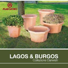 #LAGOS & #BURGOS  Collezione #Darwish - Linea Vasi rotazionali  #lineagarden #marchioro