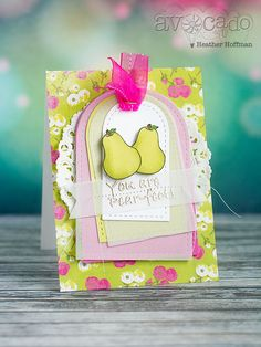 Houses Built of Cards: Avocado Arts - Pear-fect Cards