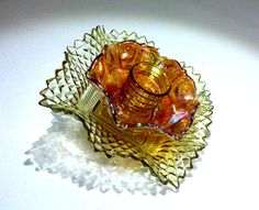 Glass Plate Flower by Creative Glassworks