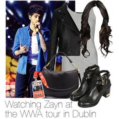 Watching Zayn at the WWA tour in Dublin