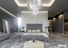 Here you may find out Modern Bedroom design for your Bedroom. Certainly, it can help you a lot to make it looks great. Visit 3 Kind Of Elegant Bedroom Design Ideas Includes A Brilliant Decor That Very Suitable To Apply to learn more. Modern Classic Bedroom, Elegant Bedroom Design, Luxury Bedroom Design, Master Bedroom Design, Luxury Interior Design, Bedroom Designs, Bedroom Ideas, Bedroom Decor, Bedroom Headboards