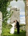 One couple who just got married at this HomeAway castle