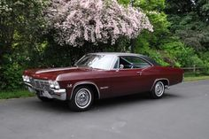 1965 Chevy Impala SS 396 Maintenance of old vehicles: the material for new cogs/casters/gears/pads could be cast polyamide which I (Cast polyamide) can produce