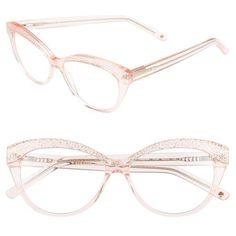 kate spade new york  zabrina  52mm reading glasses (6.055 RUB) ❤ liked.  Oculos TransparenteArmações ... 286ec4fc69