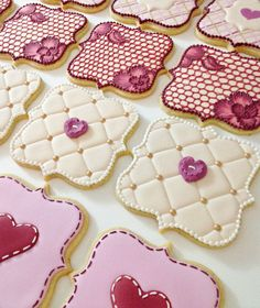 105 Best Valentines Cookies Images On Pinterest In 2018 Decorated