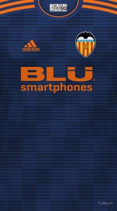 Valencia (2) Soccer Kits, Football Kits, Sport Football, Football Uniforms, Football Jerseys, Football Players, Sports Logo, Sports Shirts, Valencia Club
