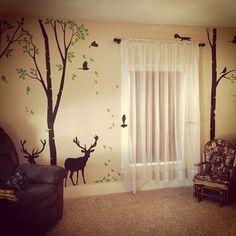 Baby Boy, Nursery, Deer Theme
