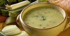 Living Without - Gluten-Free, Dairy-Free Cool Cucumber Gazpacho - Recipes Article Kale Potato Soup, Leek Soup, Cabbage Soup, Onion Soup, Corn Soup, Veggie Soup, Kale Soup Recipes, Vegetarian Recipes, Cooking Recipes