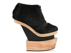 Gold Dot Paige Booties in Black at Solestruck.com $250