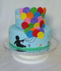 balloon cake from The Cake That Ate Paris