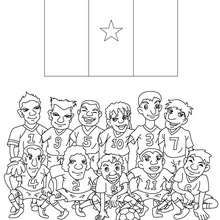 Didier Drogba playing soccer LEARN Diverse Coloring Pages