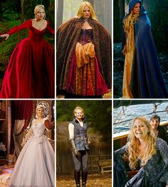 Emma Swan + Enchanted Forest Wardrobe
