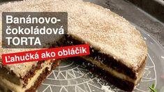 Banánovo-čokoládová torta. Piškótový korpus - ľahučký  ako obláčik! - YouTube Tiramisu, Cheesecake, Ethnic Recipes, Youtube, Food, Meal, Cheese Cakes, Eten, Cheesecakes