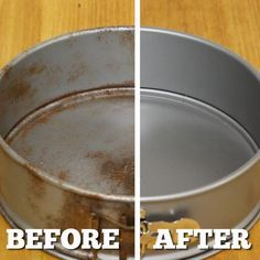 File this under: life hacks. Spring is here, or at least for some of us, and that means lots of cleaning. We've rounded up ten more easy life hacks that aim to make your life easier, such as using a Keurig coffee machine to fill up … Deep Cleaning Tips, Green Cleaning, Spring Cleaning, Cleaning Hacks, Cleaning Solutions, How To Clean Copper, How To Remove Rust, Removing Rust, Remove Rust From Metal