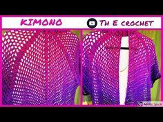 Κιμονό με magicyarnballs / Th E crochet - YouTube
