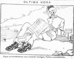 The Spanish flu as the Naples Soldier (Spain, 1918)