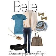 Disney inspired outfit -- I hate purses, but it's cute otherwise!