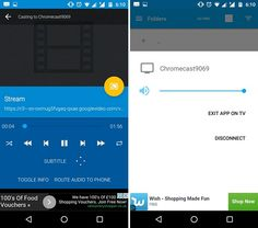Kodi Chromecast streaming LocalCast