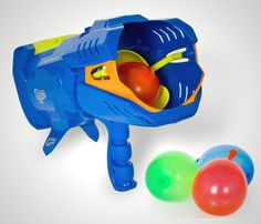 Water Fight Weaponry – The Aqua Force Blaster