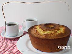 Bolo Nobre com cafézinho para começar bem a quarta-feira? Passe aqui e leve um bolo caseiro pra tomar o café da manhã com a galera do serviço ;)