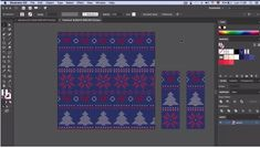 How To Create a Knit Pattern Graphic in Adobe Illustrator