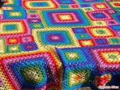Very beautiful crocheted blankets