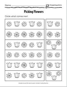 Pattern Worksheets for Kids. 20 Pattern Worksheets for Kids. Shape Patterns Worksheet for Kids Answer Key Pattern Worksheets For Kindergarten, Patterning Kindergarten, Rhyming Worksheet, Preschool Math, Kindergarten Worksheets, Printable Worksheets, Free Worksheets, Maths, Math Patterns