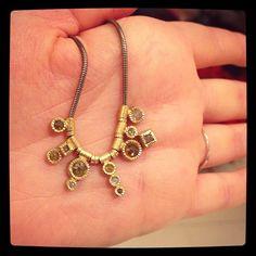 The prettiest little @toddreedjewelry #diamond necklace you ever did see. #jewelry #gold @igormanjewelers